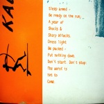 Sleep Armed-poem